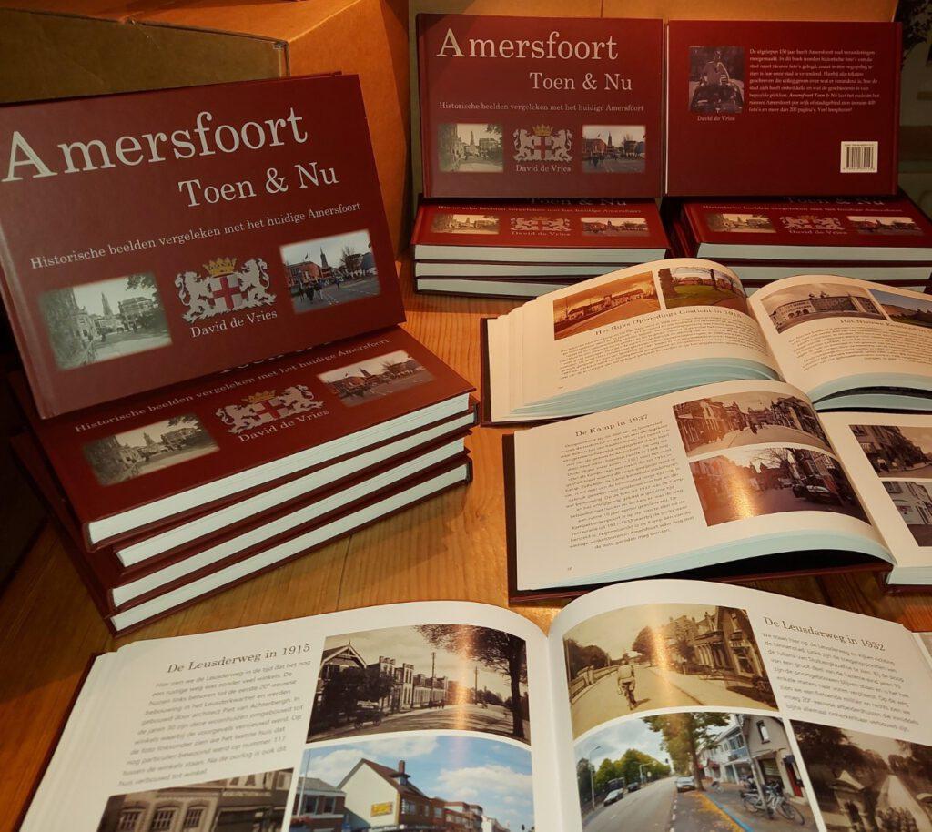 Afbeelding boek Amersfoort Toen en nu