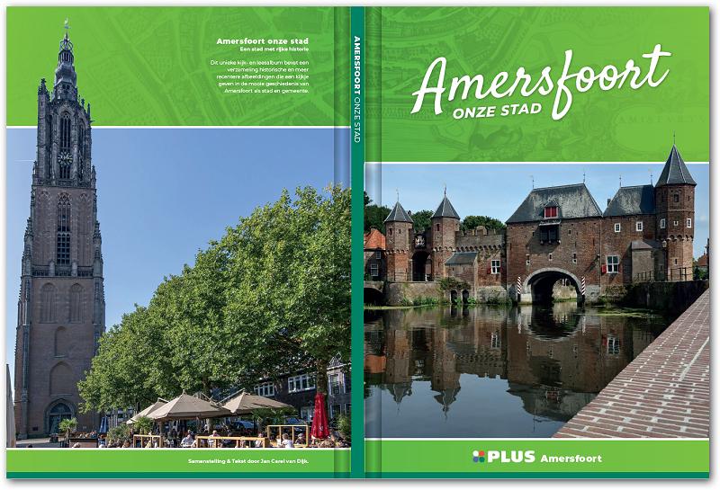 Voor het eerst een historisch boek met plakplaatjes van Amersfoort